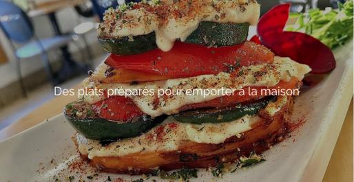 plat préparé végétarien pour emporter