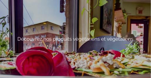 prêt-à-manger végétarien